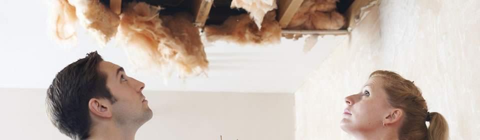 Lekkage plafond Groningen